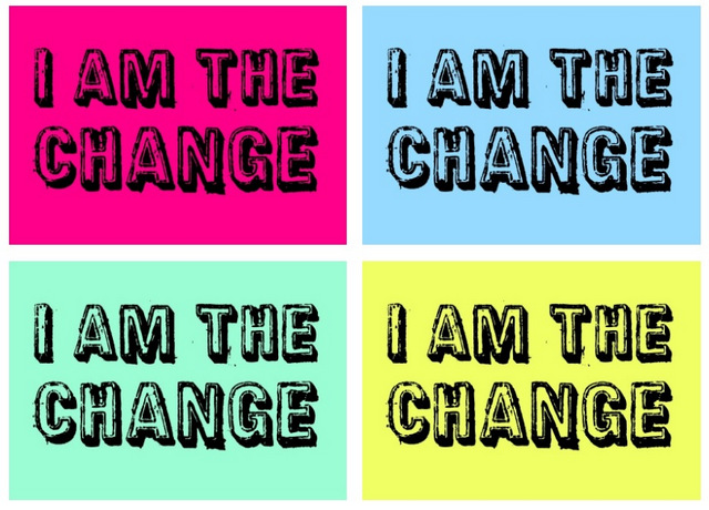 Climate Pop Art: I Am The Change