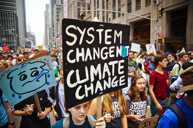 People's Climate March, New York - photo credit: Joe Brusky