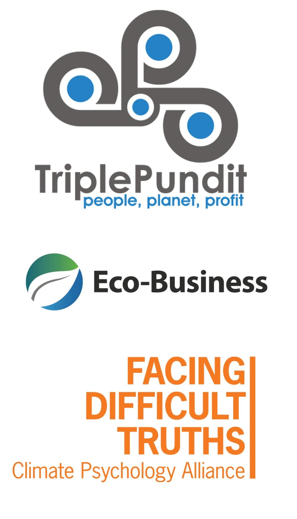 TriplePundit, Eco-Business.com, Climate Psychology Alliance CPA