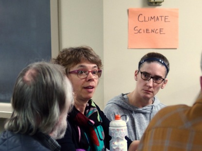 Talking about climate science