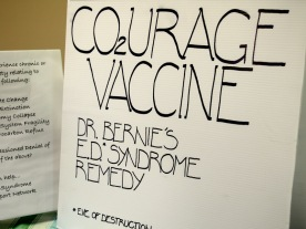 Bernie Amell's Courage Vaccine to act